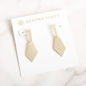 Kendra Scott Gianna Drop Earrings In Gold